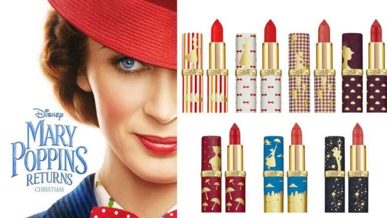 La colección de maquillaje inspirada en Mary Poppins de L'Oréal