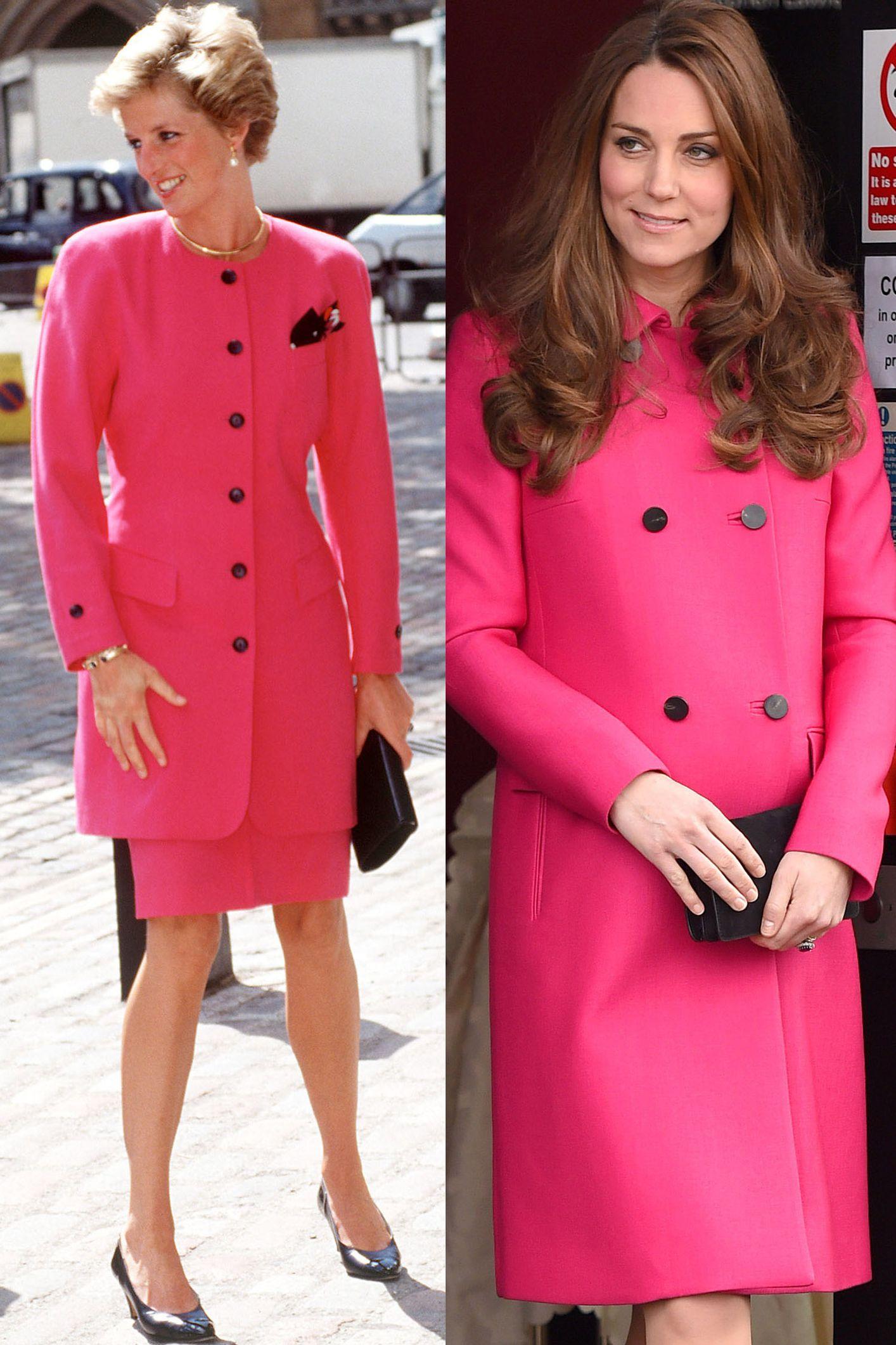 20 veces en las que Kate Middleton homenajeó a la Princesa Diana con sus atuendos
