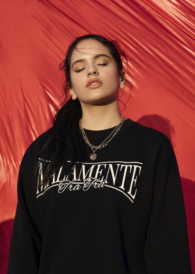 Los primeros pasos de Rosalía en el mundo de la moda junto a Pull and Bear
