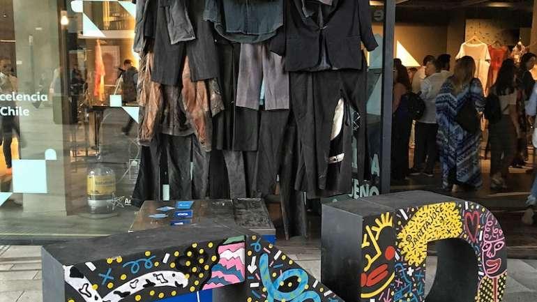 Ronda Nacional, una propuesta expositiva que invita a generar conciencia sobre el problema ambiental de la industria textil