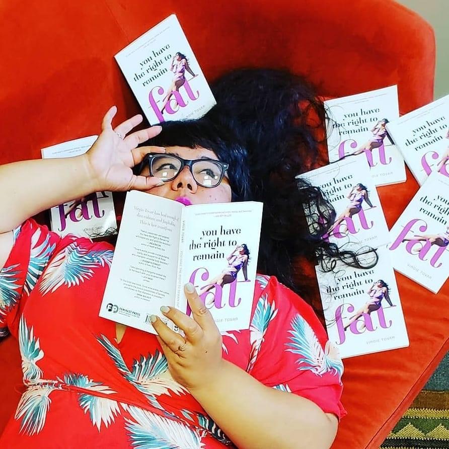 """Lose hate not weight"": El popular activismo de Virgie Tovar"