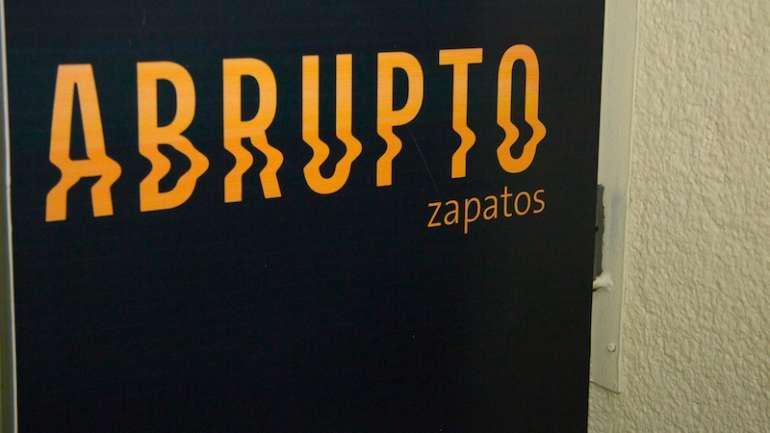 La nueva tienda de los zapatos Abrupto en Valparaíso