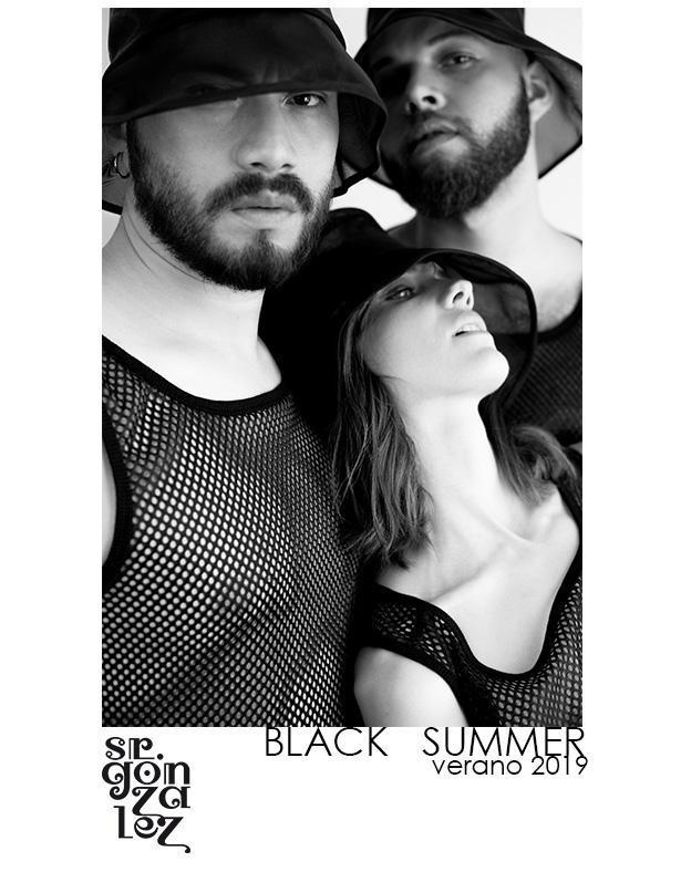 """""""Black Summer"""", la colección Primavera/Verano 2019 de Sr. González"""