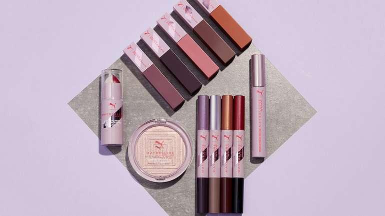La colección de maquillaje de Puma X Maybelline