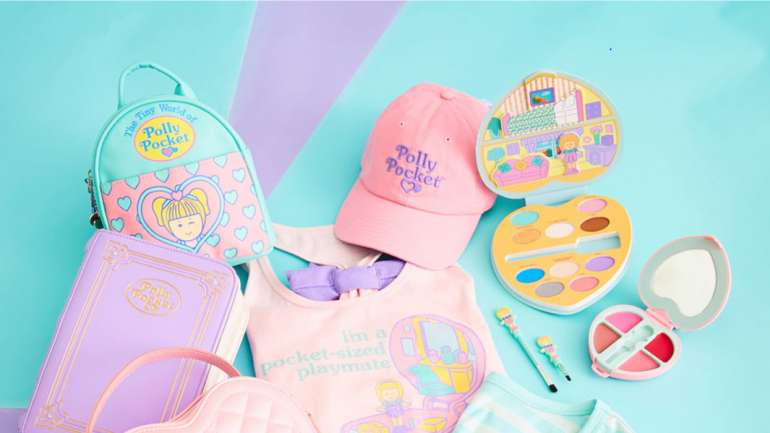 De vuelta a la infancia: La colección de Polly Pocket x Hot Topic