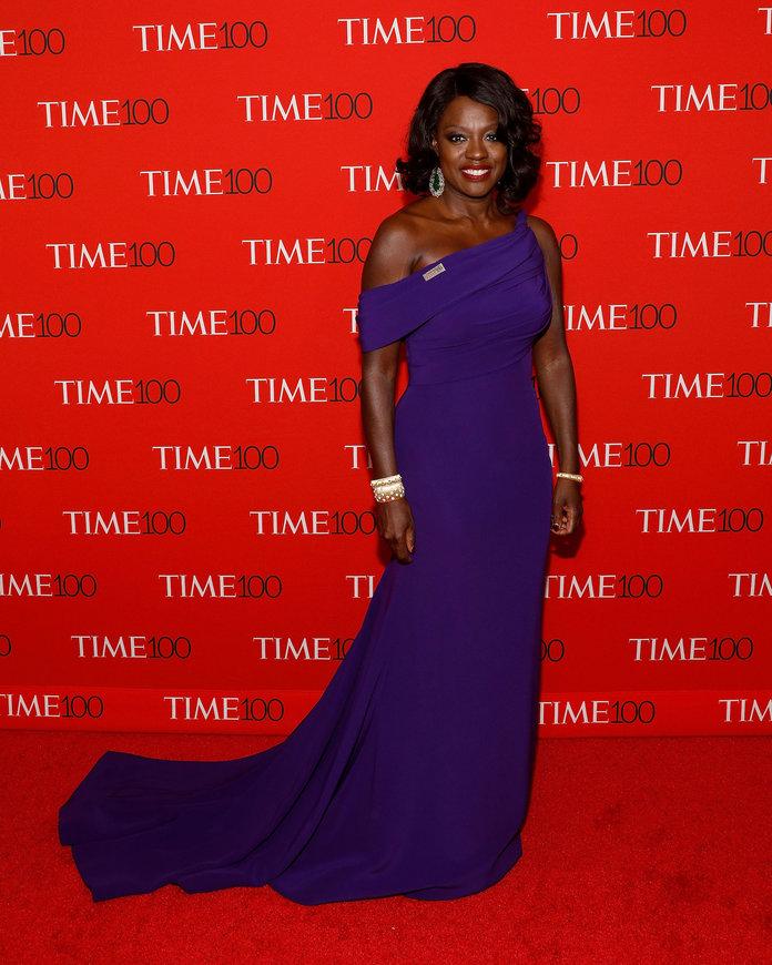 El estilo de Viola Davis en las alfombras rojas