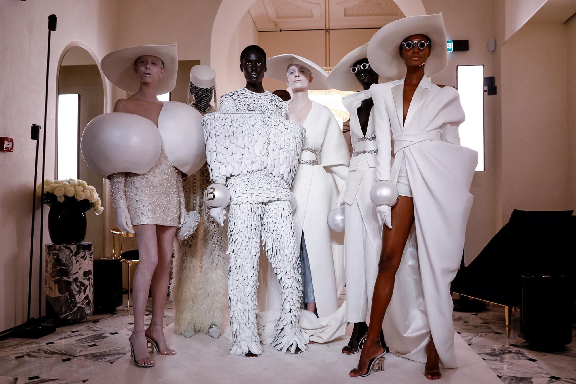 El debut de Olivier Rousteing tras Balmain Haute Couture