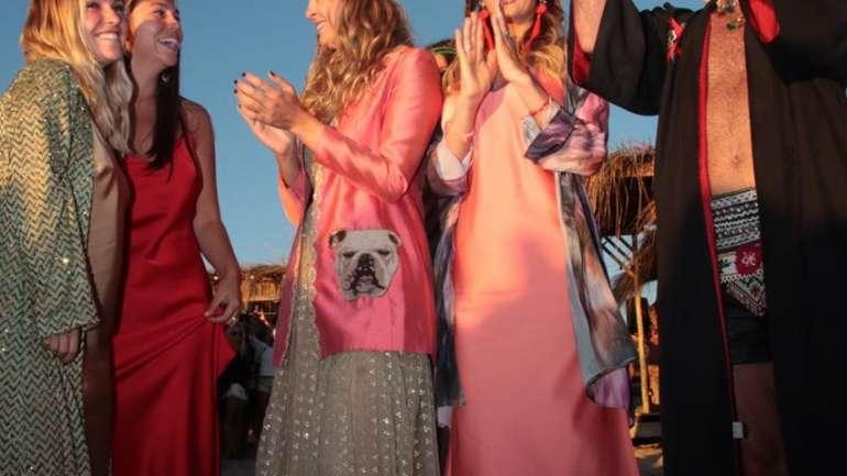 El desfile de Paula Errázuriz en Punta del Este