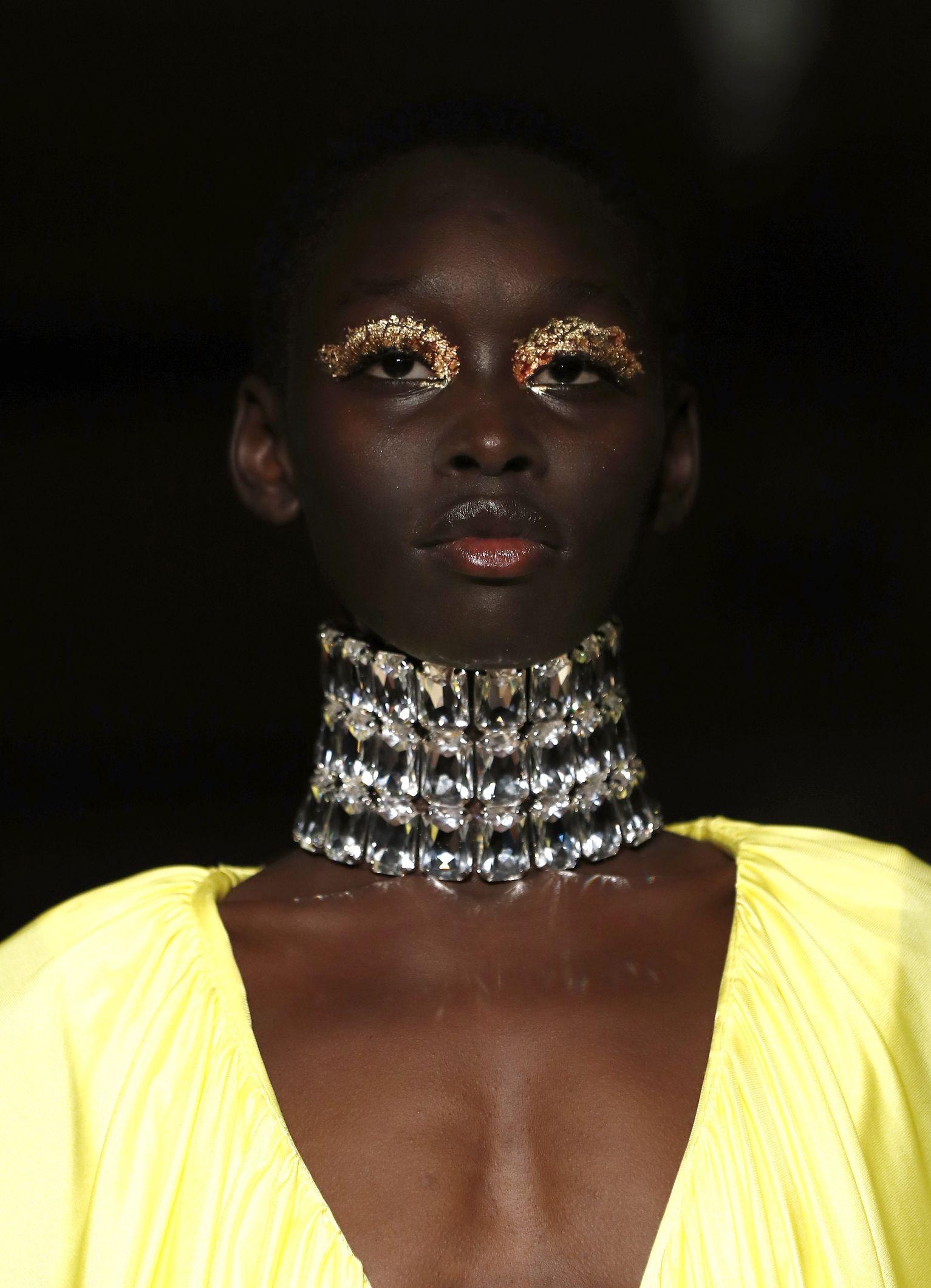 Maquillaje y accesorios que vimos en LFW FW 2019