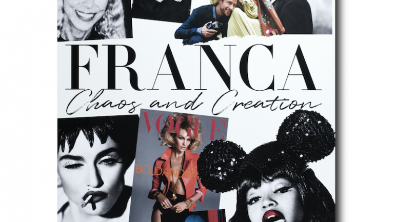 "Se viene el libro del documental ""Franca: Chaos and Creation"""