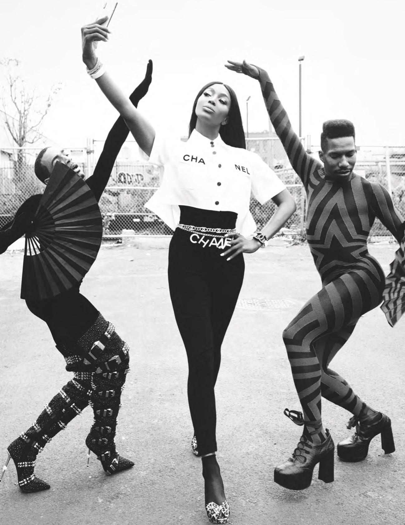 Being Naomi, la editorial que trae de regreso a Naomi Campbell a British Vogue después de 17 años