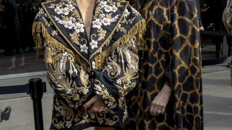 El street style de Dolce & Gabbana en MFW x Nicolás Stark