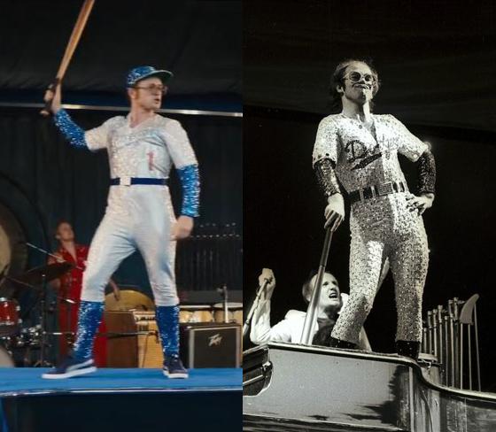 La transformación de Taron Egerton en Elton John