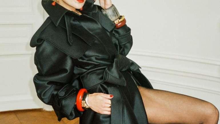 Catherine Baba protagoniza el nuevo lookbook de Antonio Berardi