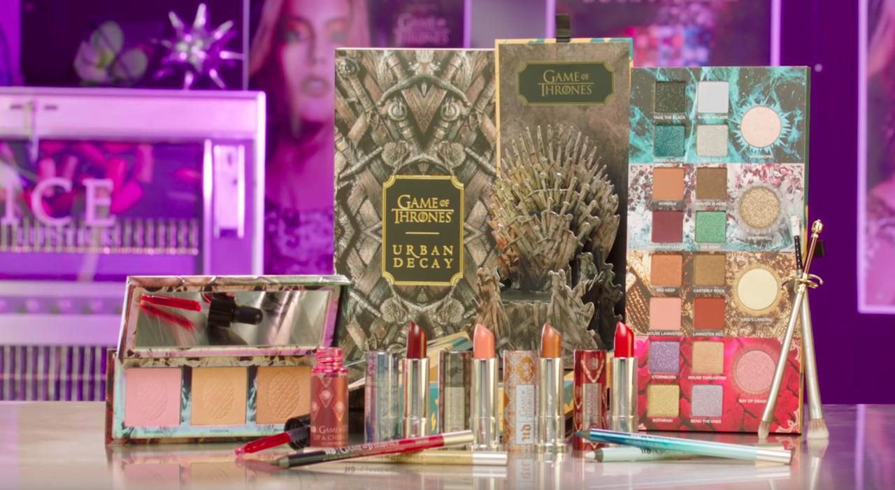 Urban Decay lanza línea de maquillaje inspirada en Games Of Thrones