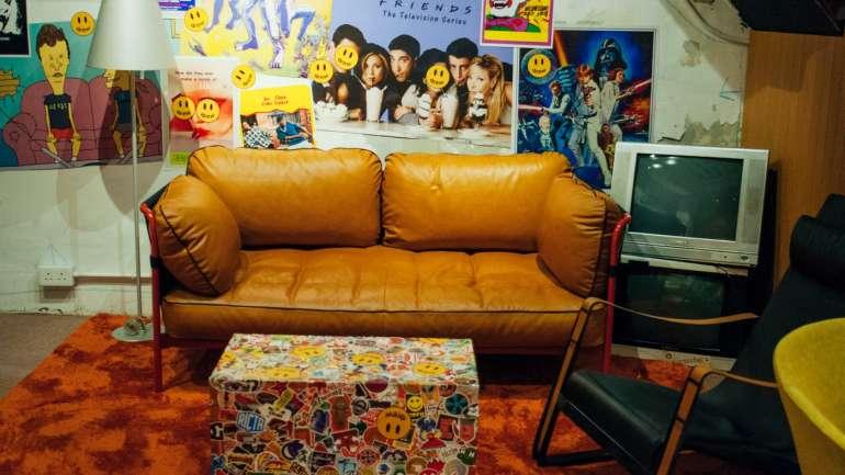 Una mirada al interior del pop-up de Drew House en Hong Kong