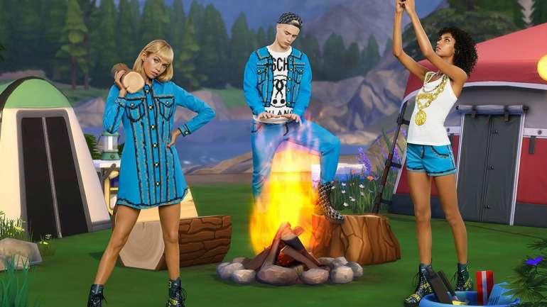 The Sims y Moschino lanzan la colección SS19 inspirada en la realidad virtual
