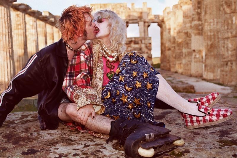 Entre Historia y punk: La campaña Pre-Fall 2019 de Gucci