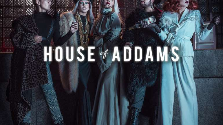 La sesión de fotos de House of Addams x Dream Estudio