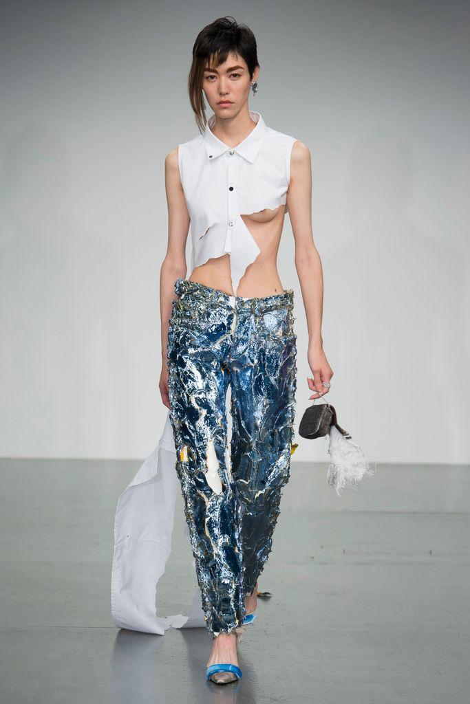 Los jeans a través de Faustine Steinmetz
