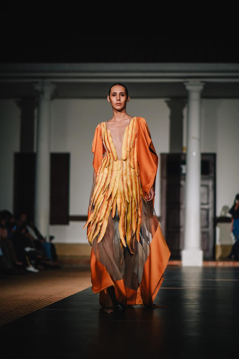 Mística, la colección O/I 2019 del diseñador boliviano Luis Daniel Agreda