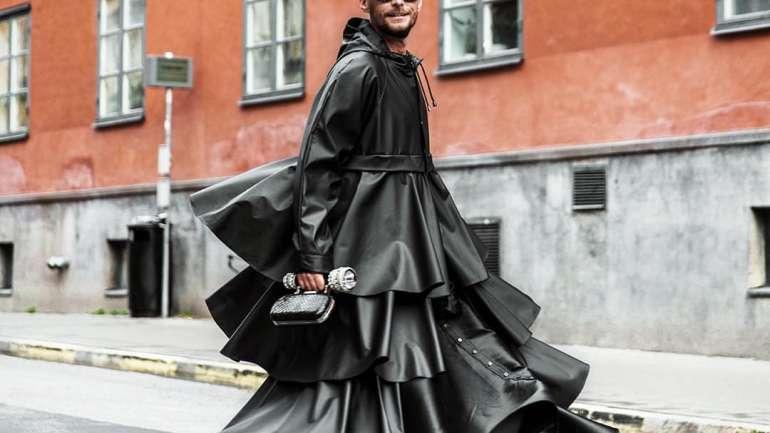 Fredrik Robertsson, el hombre de los mil vestidos