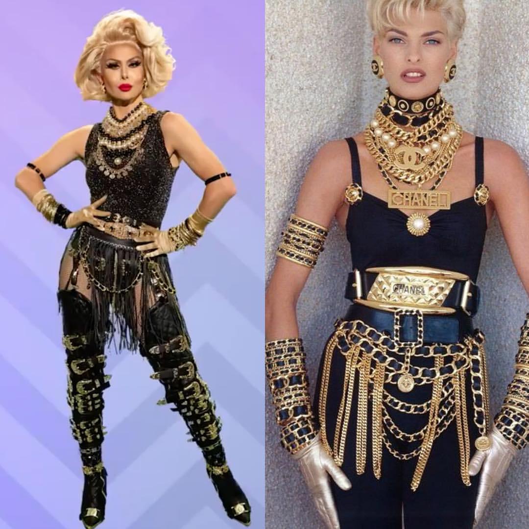 @fashioncandrag, la cuenta que muestra los referentes en el vestuario de las drag queens