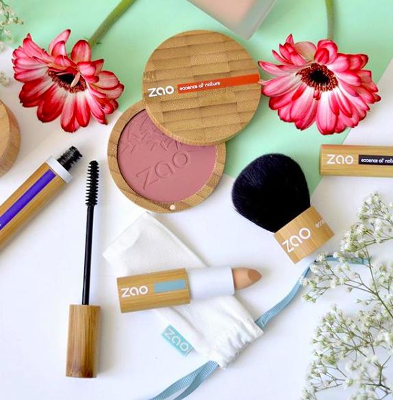 Zao Organic Makeup, maquillaje 100% natural, orgánico y vegano