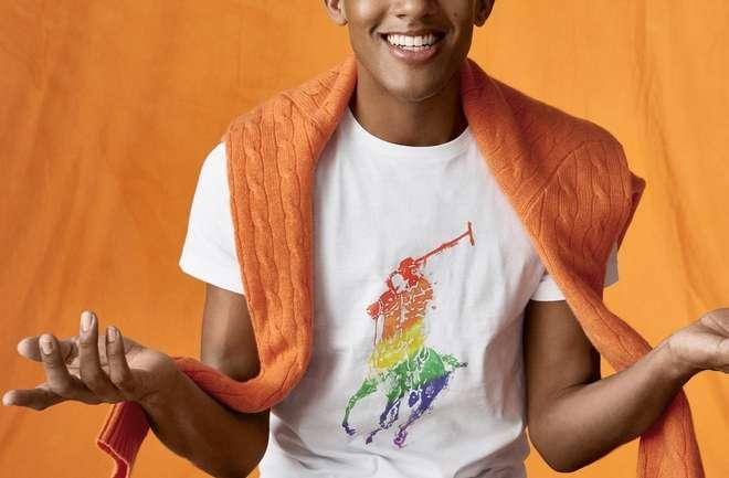 Polo Ralph Lauren comienza a celebrar el mes del orgullo, con su colección cápsula PRIDE
