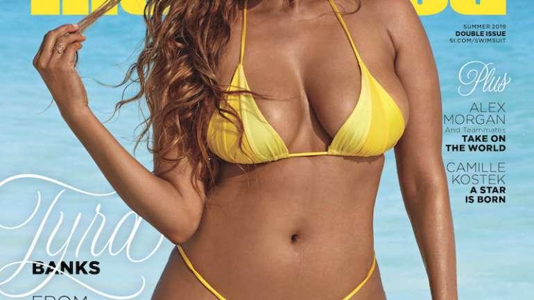 Tyra Banks regresa a la portada de Sports Illustrated 22 años después