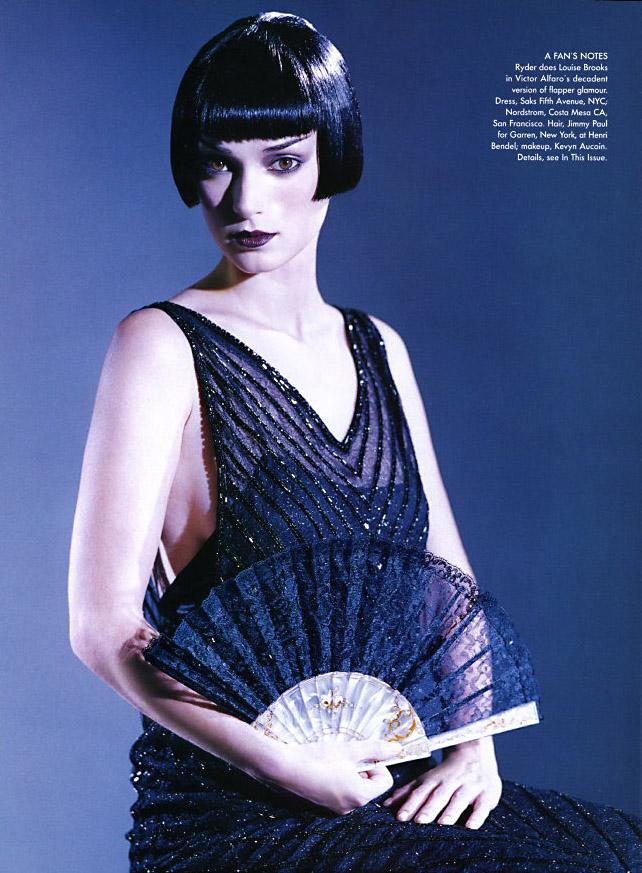 Flashback: Cuando Meisel fotografió a Winona, 1996