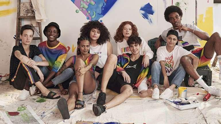 Love for all: la colección cápsula de H&M en el mes del Pride