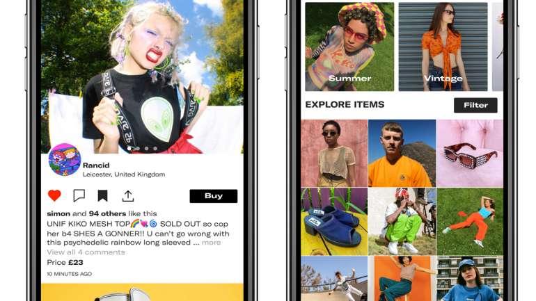 Depop, la app donde la generación Z puede vender su ropa
