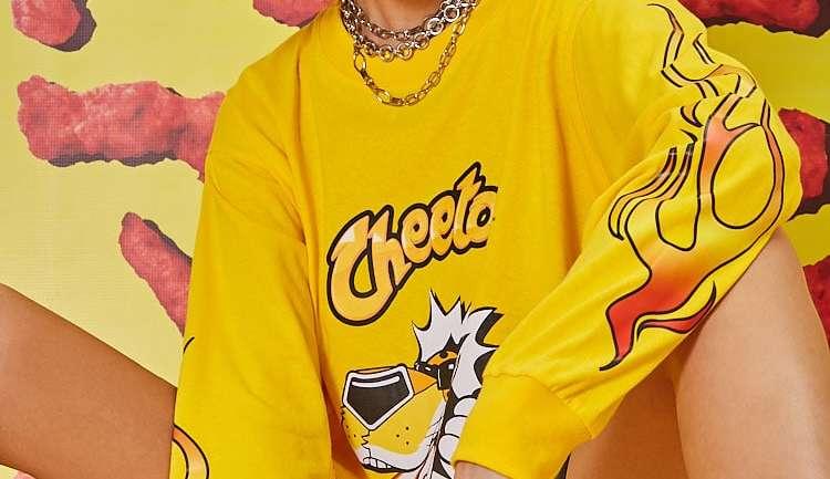 Forever 21 y su colección inspirada en los Cheetos