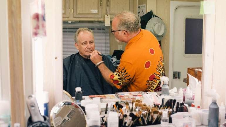 Daniel Parker, el maquillador de la serie Chernobyl