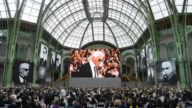 Karl Forever: el homenaje en el Grand Palais que tuvo el Káiser de la moda