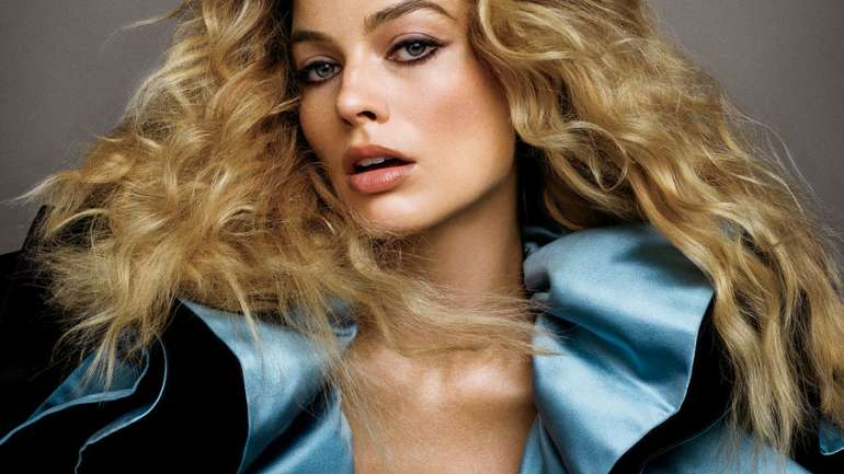 El glamour de Margot Robbie para US Vogue