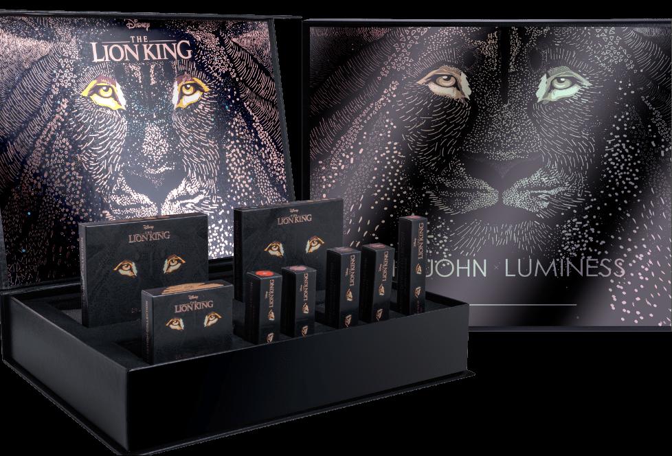 Sir John y Luminess Cosmetics lanzarán una línea de maquillaje inspirado en el Rey León de Disney