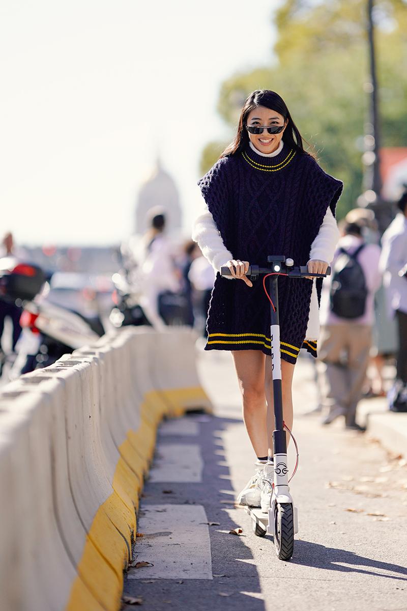 Street Style en scooters
