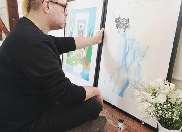 """Conversando con el ilustrador Mr. William sobre """"El Jardín Secreto"""", la expo que une el mundo de la moda, la naturaleza y la ilustración"""