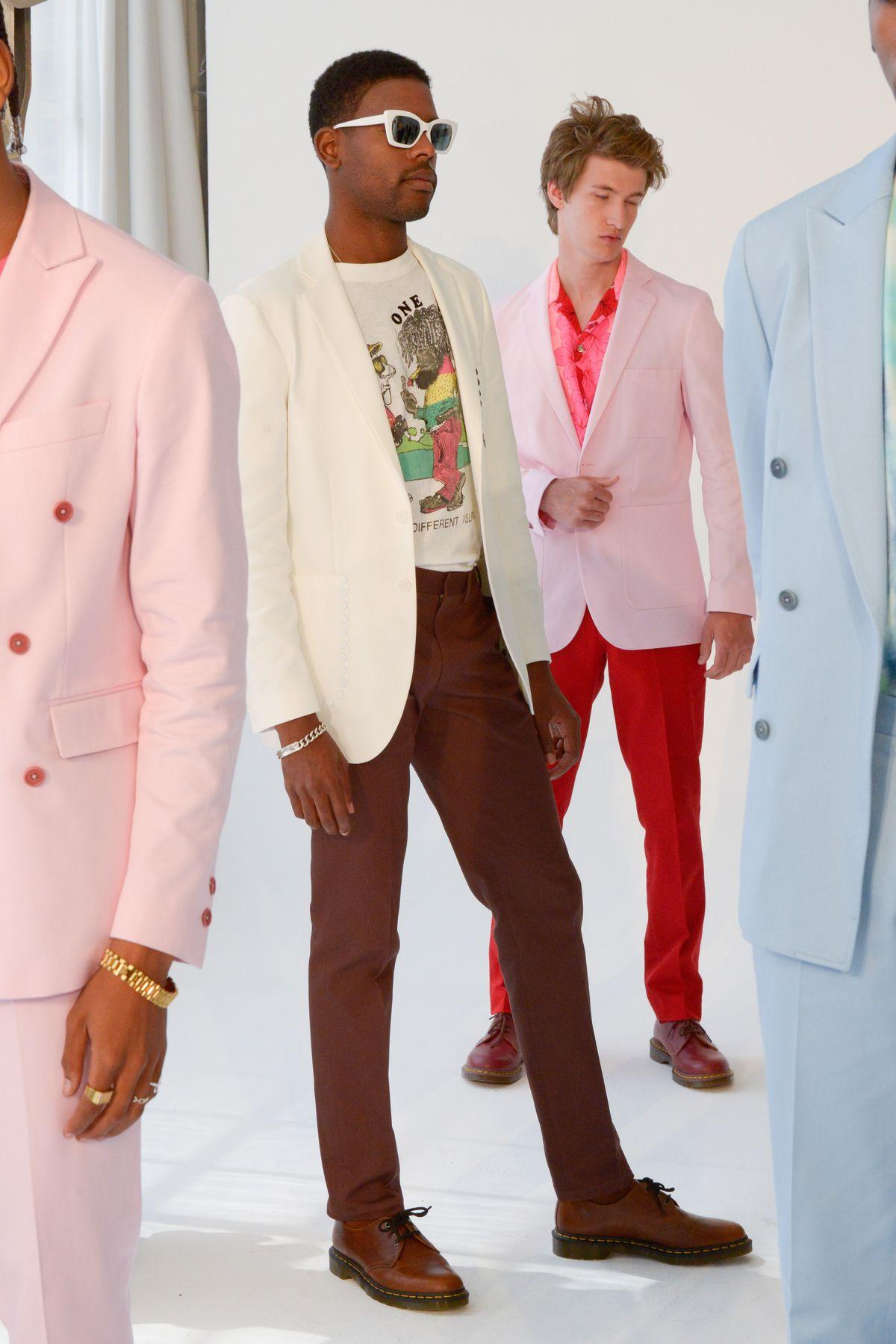 Timo Weiland S/S 2020: Entre Miami Vice y los sad boys