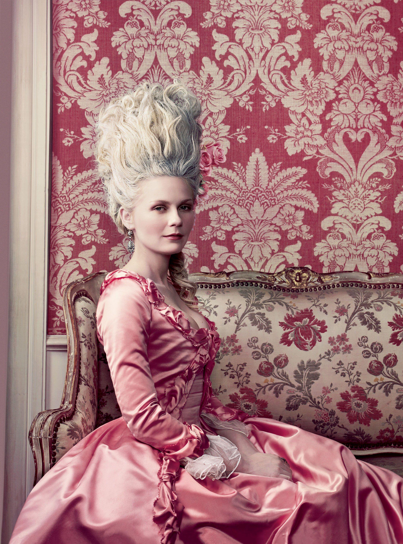 Cuando Kirsten Dunst se transformó en Marie Antoinette en Vogue