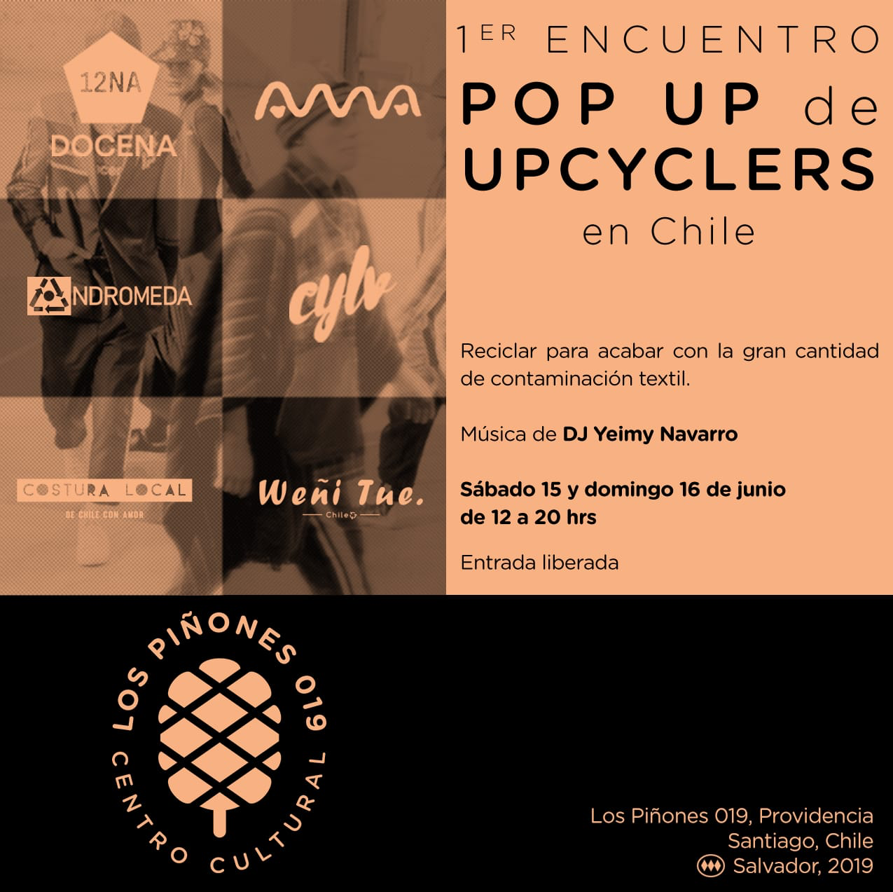 UPCY, el pop up que busca difundir el upcycling en Chile