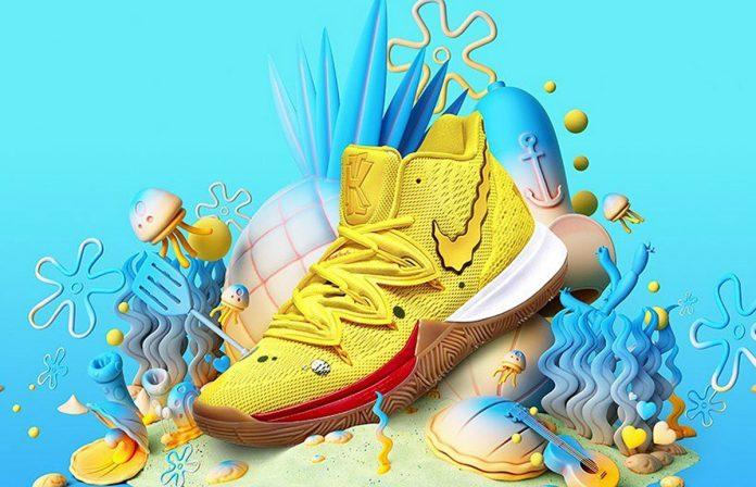 Nike lanzó una zapatillas inspirada en Bob Esponja
