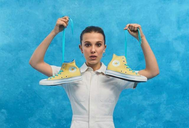 Millie By You, lo nuevo de Converse y Millie Bobby Brown