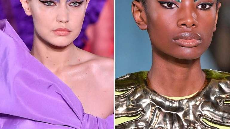 Lo mejor del maquillaje en el Paris Haute Couture