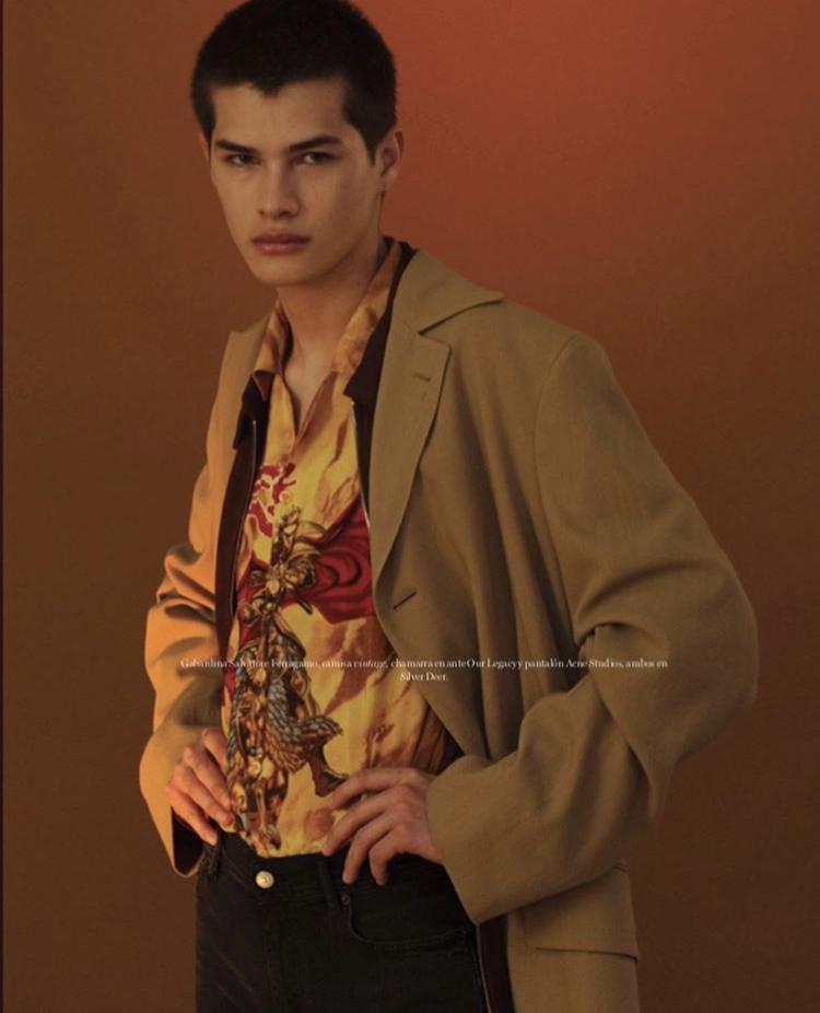Alfredo Díaz, el modelo mexicano del momento