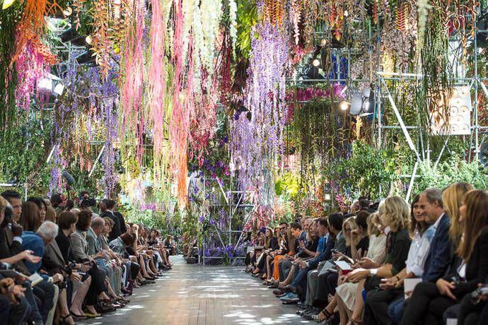 Mark Colle, el hombre detrás de los arreglos florales de la moda