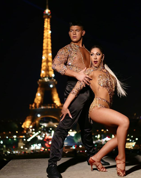El vestuario de Karen y Ricardo, la pareja chilena-argentina de bailarines nominada al Emmy