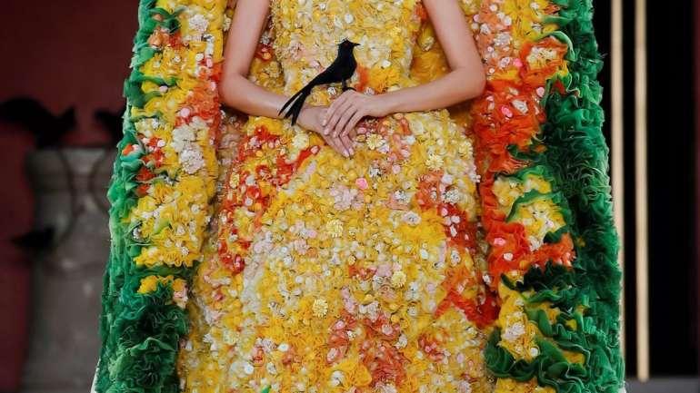 Los trajes más llamativos de la semana de la Alta Costura de París